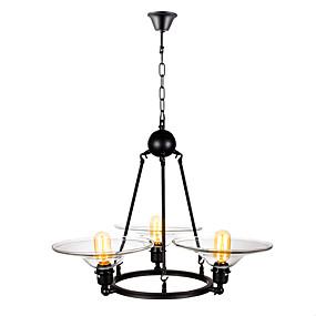 preiswerte Deckenlichter & Ventilatoren-3-Licht Mini Kronleuchter Raumbeleuchtung Lackierte Oberflächen Metall Glas Ministil 110-120V / 220-240V