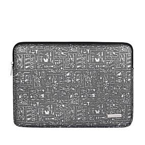 """preiswerte Laptop-Zubehör-13 """"Laptop / 14 """"Laptop / 15 """"Laptop Ärmel Leder Print Für Männer Für Frauen für Geschäftsstelle Wasserdicht Stossfest"""
