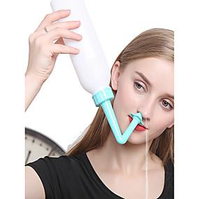 cheap Makeup For Eyes-Nose Cleansing Tool Clean Sinus Allergies Nasal Pressure Neti Pot 400ML
