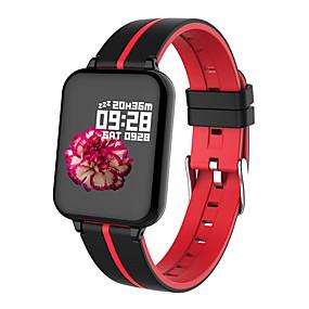 billige Nyheter-b57a fargeskjerm mote sports Bluetooth smart armbånd / hjertefrekvens og blodtrykk helseovervåking / trinntelling / kjørelengde / ip67 livstett / kreativ gave