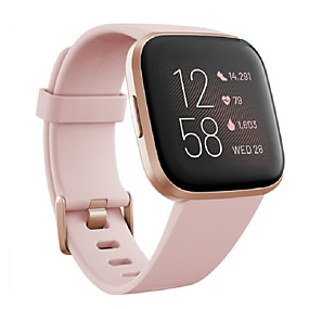cheap Smartwatch Bands-Watch Band for Fitbit Versa2 Fitbit Sport Band Silicone Wrist Strap