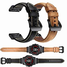 billige Telefoner og tilbehør-luksuriøst armbånd for armbåndsur for garmin fenix 6 pro / fenix 5 pluss / tilnærming s60 / forerunner 935 / quatix5 safir hurtigutløsning armbånd armbånd stropp armbånd