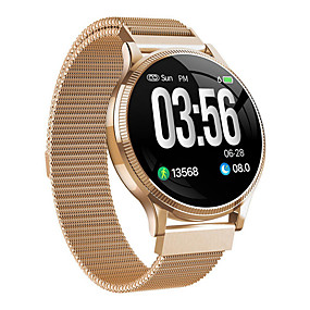 cheap Smart Watches-MK08 Unisex Smart Wristbands Bluetooth Waterproof Heart Rate Monitor Blood Pressure Measurement Distance Tracking Information Pedometer Call Reminder Activity Tracker Sleep Tracker Sedentary Reminder