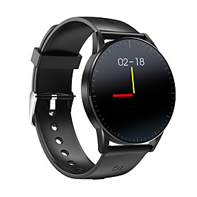 cheap Smart Watches-QS09 Unisex Smart Bracelet Smartwatch Bluetooth Water Resistant / Waterproof Touch Screen Blood Pressure Measurement Calorie Counters Blood Oxygen Monitor ECG+PPG Pedometer Fitness Tracker Heart Rate