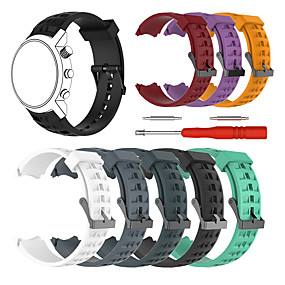 cheap Smartwatch Bands-Watch Band for SUUNTO Terra Suunto Sport Band Silicone Wrist Strap