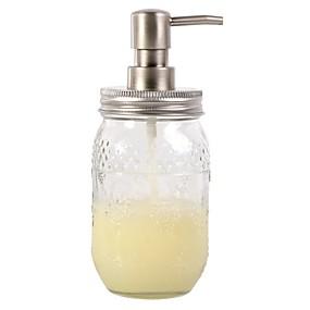 preiswerte Seifenspender-Seifenspender Drücken Sie Edelstahl 500 ml