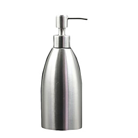 cheap Soap Dispensers-Soap Dispenser Premium Design / Cool Contemporary Stainless steel 1pc Wall Mounted