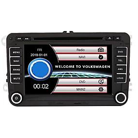 preiswerte Christmasgifts-520wgnr04 7 zoll 2 din windows system in-dash auto dvd touchscreen eingebautes bluetooth für volkswagen unterstützung rds / gps / lenkradsteuerung / subwoofer ausgang / spiele / tf / usb