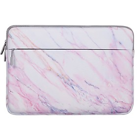 cheap Sleeves,Cases & Covers-13.3 14 15 Inch Laptop Sleeve Polyester Marble for Men for Women for Bus