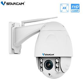 cheap Outdoor IP Network Cameras-VStarcam Wireless PTZ Dome IP Camera Outdoor 1080P FHD 4X Zoom CCTV Security Video Network Surveillance Security IP Camera Wifi