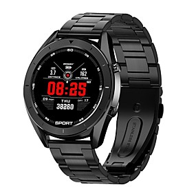 cheap Smart Watches-Smartwatch Digital Modern Style Sporty 30 m Water Resistant / Waterproof Heart Rate Monitor Bluetooth Digital Casual Outdoor - Black Black / Silver Gold