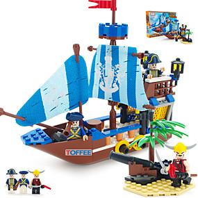 preiswerte Be a Viking!-ENLIGHTEN Bausteine Modellbausätze Bausatz Spielzeug Seeräuber Schiff Piraten kompatibel Legoing Jungen Mädchen Spielzeuge Geschenk / Bildungsspielsachen