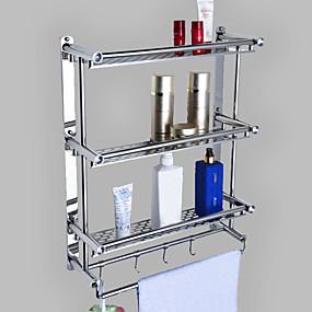 preiswerte Badezimmer-Produkte-Badezimmer Regal Kreativ Moderne Metal 1pc - Bad Wandmontage