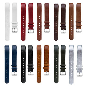 cheap Smartwatch Bands-Watch Band for Fitbit Charge 2 / Fitbit Charge 2 HR High-end Leather Loop Genuine Leather Band Wrist Strap