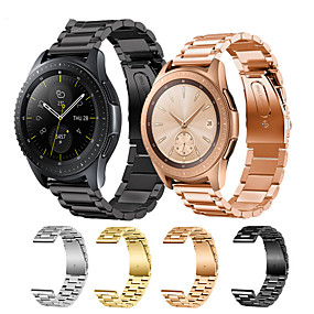 cheap Smartwatch Bands-Watch Band for Samsung Galaxy Watch 46mm / Samsung Galaxy Watch 42mm Samsung Galaxy Modern Buckle Stainless Steel Wrist Strap