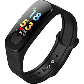 billige Nyheter-b37 mote menns sports bluetooth smart armbånd / hjertefrekvens blodtrykk elektrokardiogram helseovervåking / familie og venners omsorg og forståelse for deres helse / ip67 livstett liv