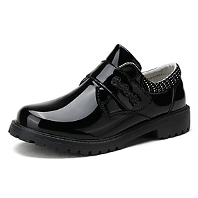 cheap Kids' Oxfords-Boys' Comfort PU Oxfords Big Kids(7years +) Black Winter / Rubber