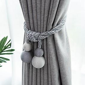 cheap Curtains & Drapes-curtain Accessories Tassel European Style 2 pcs