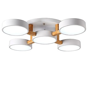 cheap Ceiling Lights & Fans-ZHISHU 5-Light 79 cm LED Chandelier Metal Acrylic Candle-style / Novelty Electroplated / Painted Finishes Traditional / Classic / Nordic Style 110-120V / 220-240V