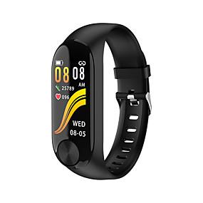 billige Nyheter-y10 mote herresport fritid bluetooth smart armbånd / hjertefrekvens blodtrykk søvn overvåking / flere sportsmodi / ip67 livstett