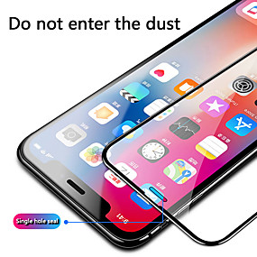 cheap iPhone Screen Protectors-Apple X Tempered Film Full Screen Coverage IphoneXR Full-edged Apple Xsmax High Definition Transparent Apple XS Front Film 11pro Mobile Phone Explosion-proof Film 8plus Screen Protection Film
