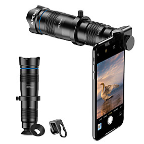 cheap Universal Accessories-Premium Dual Cmera Clip Optical Mobile 4K HD 28X Telephoto Zoom Lens