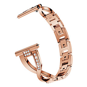 cheap Smartwatch Bands-Watch Band for Gear S2 / Samsung Galaxy Watch 42mm / Samsung Galaxy Watch Active Samsung Galaxy Jewelry Design Stainless Steel Wrist Strap