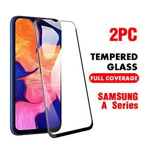 cheap Samsung Screen Protectors-SAMSUNGScreen ProtectorSamsung Galaxy A20(2019) High Definition (HD) Front Screen Protector 2 pcs Tempered Glass