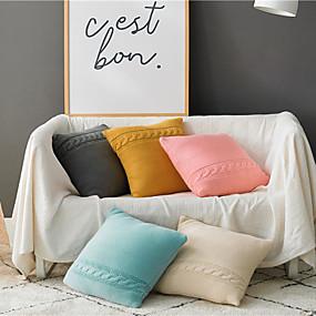 cheap Slipcovers-Set of 1 Throw Pillow Casual Modern 45*45 cm