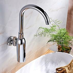 preiswerte Induktions-Hähne-Waschbecken Wasserhahn - Verbreitete Galvanisierung Mittellage Einhand Ein LochBath Taps