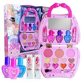 cheap Dress Up & Pretend Play-Pretend Makeup Set Pretend Makeup Play Beauty Salon Play Set Girls' Cartoon Gift Children's