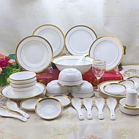 povoljno Posuđe za posluživanje-1set Kompleti za večeru posuđe Porculan Cool
