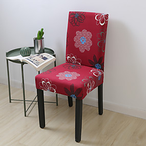 cheap Slipcovers-Chair Cover Floral / Romantic Printed Polyester Slipcovers
