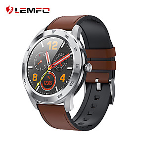 cheap Smart Watches-LEMFO DT98 Unisex Smartwatch Bluetooth Waterproof Heart Rate Monitor Blood Pressure Measurement Distance Tracking Information ECG+PPG Pedometer Call Reminder Activity Tracker Sleep Tracker