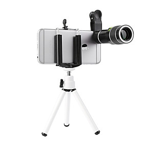 cheap Lenses-20x Universal Telephoto Telescope Mobile Phone Lense External Lens Lens And Clip For IPhone X 7 8 Xiaomi Huawei Ect Smartphone