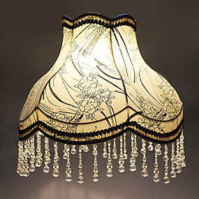 cheap Lamps & Lamp Shades-Lampshade Arc Ambient Lamps Contemporary Artistic For Living Room Bedroom Yellow