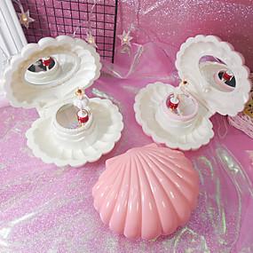 cheap Accessories-Jewelry Box - Light Pink, White, Pink 15.7 cm 12.5 cm 15.5 cm / Women's