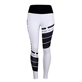 cheap Women's Activewear-Women's High Waist Running Tights Leggings Compression Pants Sports & Outdoor Pants / Trousers Base Layer Leggings Stylish Elastane Fitness Gym Workout Running Jogging Training Tummy Control Butt