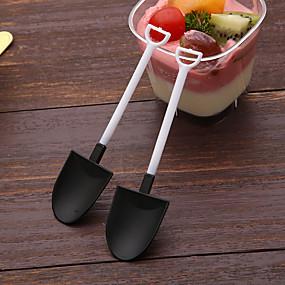povoljno Posuđe za posluživanje-100pcs slobodan sladoled žlica kašičica lopatica pojedinačno pakiran