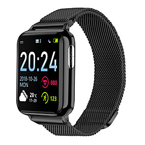 cheap Smart Watches-V5 Unisex Smartwatch Android iOS Bluetooth Waterproof Heart Rate Monitor Blood Pressure Measurement Distance Tracking Information ECG+PPG Pedometer Call Reminder Activity Tracker Sleep Tracker