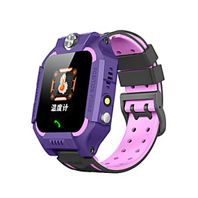 cheap Smart Watches-W01 Kids Smartwatch Thermometer Bluetooth Waterproof Touch Screen Sports Long Standby Thermometer Pedometer Call Reminder Activity Tracker Sleep Tracker Community Share