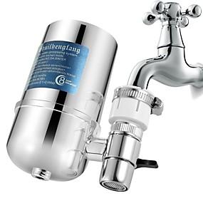 Χαμηλού Κόστους Βρύσες-σύστημα βρύσης φίλτρου νερού βρύσης, σύστημα φιλτραρίσματος νερού με φίλτρο με υπενθύμιση αλλαγής φίλτρου, μειώνει το μόλυβδο, χωρίς bpa, ταιριάζει στις στάνταρ βαλβίδες