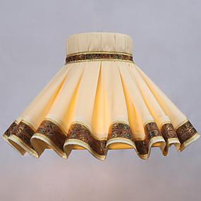 billige LED-gadgets-lampeskjerm Søtt / Nytt Design / Ambient Lamper Kunstnerisk / Moderne Moderne Til Soverom / Innendørs Papir Gul