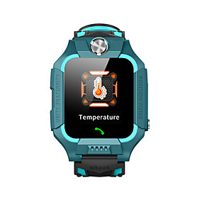 cheap Smart Watches-Z6C Kids Smartwatch Thermometer Bluetooth Touch Screen GPS Sports Long Standby Thermometer Call Reminder Alarm Clock Temperature Display