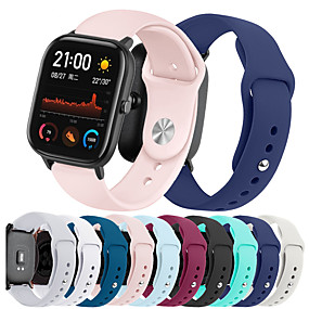cheap Smartwatch Bands-Watch Band for Amazfit GTS Xiaomi Sport Band Silicone Wrist Strap