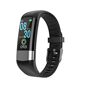 cheap Smart Watches-K03 Unisex Smart Wristbands Bluetooth Waterproof Touch Screen Heart Rate Monitor Blood Pressure Measurement Calories Burned ECG+PPG Pedometer Call Reminder Activity Tracker Sleep Tracker