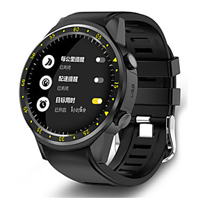 cheap Smart Watches-KING-WEAR F1 Men's Smartwatch Bluetooth Waterproof GPS Heart Rate Monitor Blood Pressure Measurement Camera Timer Pedometer Call Reminder Activity Tracker Sleep Tracker