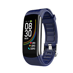 cheap Smart Watches-C6T Unisex Thermometer Smart Wristbands Bluetooth Heart Rate Monitor Blood Pressure Measurement Sports Calories Burned Thermometer ECG+PPG Activity Tracker Sleep Tracker Sedentary Reminder Community