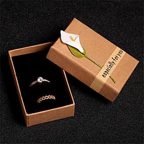 cheap Accessories-Jewelry Box - Brown 15.5 cm 14 cm 9 cm / Women's