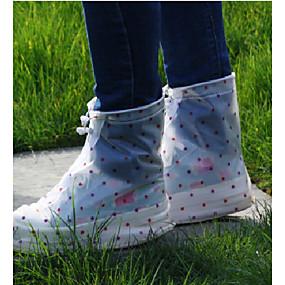 cheap Shoes Covers & Rainshoes-PVC(PolyVinyl Chloride) Shoe Cover Unisex Sports & Outdoor White